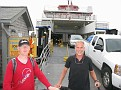 Peter Molenaar and I take a 1 hour ferry to Block Island to visit my friends Gillian and Ken!!!