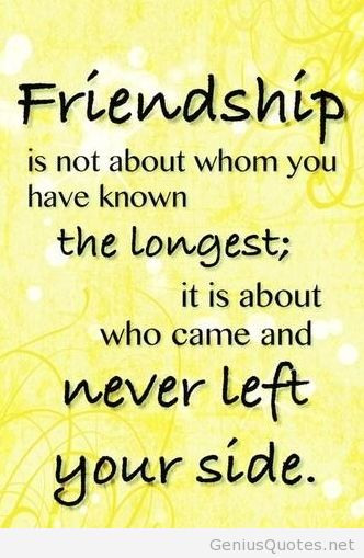 Friendship Quote Image Wallpaper