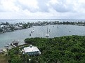 view from light house in Hope Town