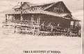 """Club House in Norma, Tennessee(I.O.O.F. stand for """"Independent Order of the Odd Fellows"""")"""