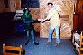 Leprechaun, and 1LT. Steve Dunn, between 1985-1987.