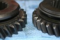 comparison low reverse  speed gear new old