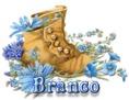 Branco - BootsNBlueFlowers