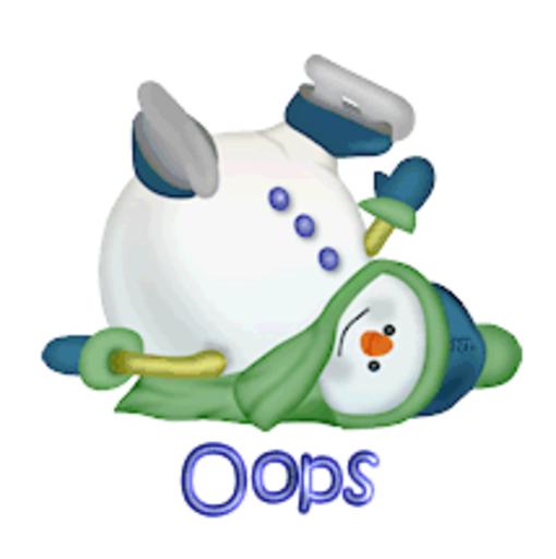 Oops - CuteSnowman1318