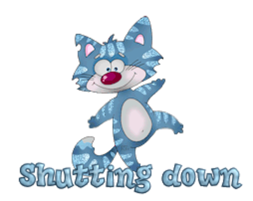 Shutting down - DancingCat