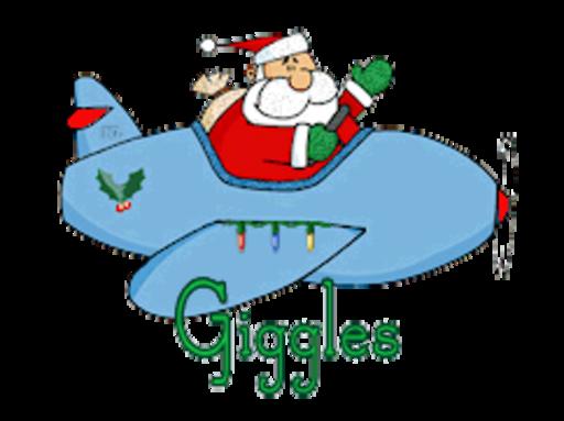 Giggles - SantaPlane
