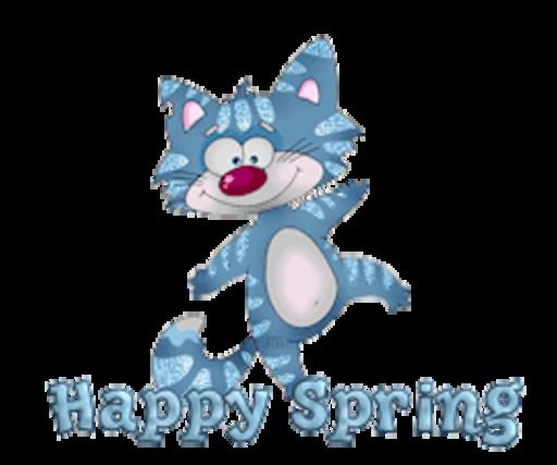 Happy Spring - DancingCat