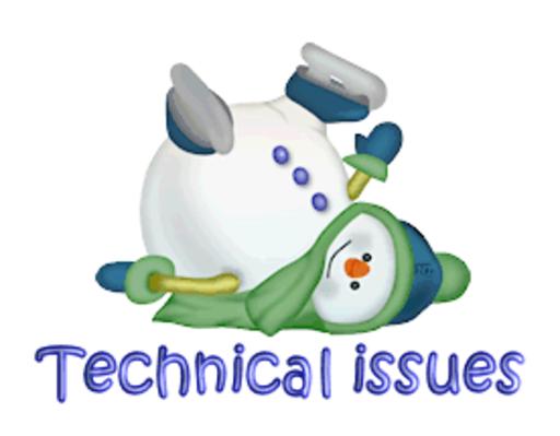 Technical issues - CuteSnowman1318