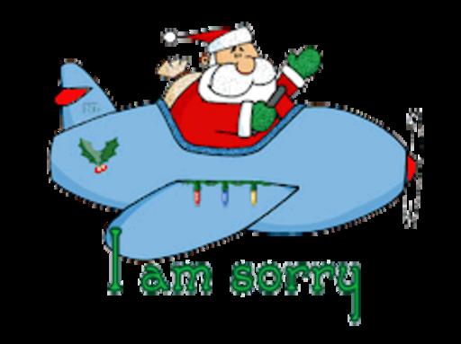I am sorry - SantaPlane