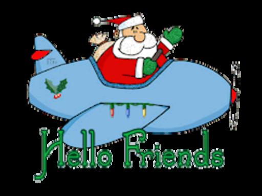 Hello Friends - SantaPlane