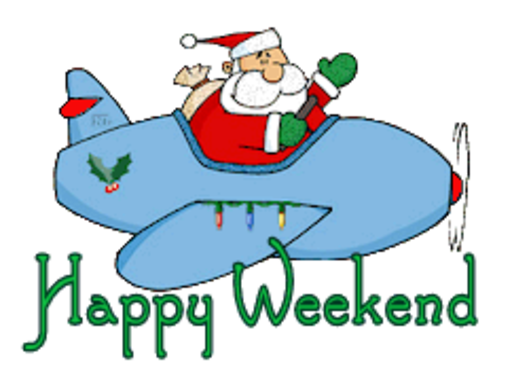 Happy Weekend - SantaPlane