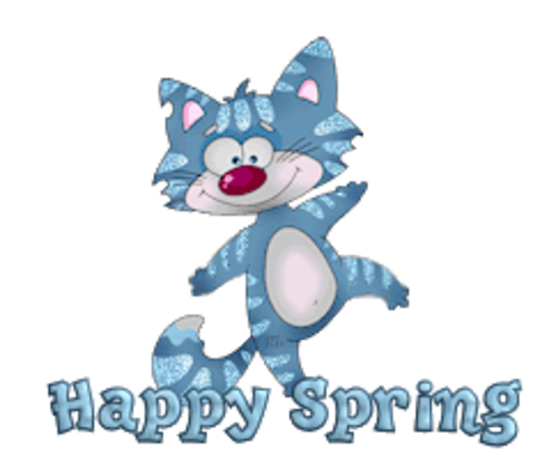 Happy Spring - DancingCat