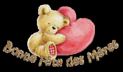 Bonne Fete des Meres - ValentineBear2016