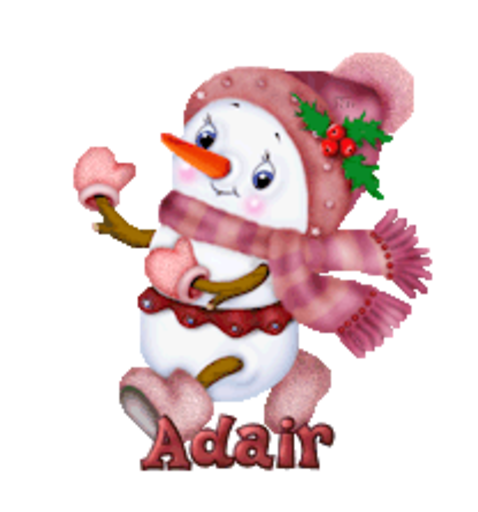 Adair - CuteSnowman