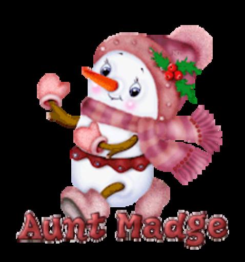 Aunt Madge - CuteSnowman