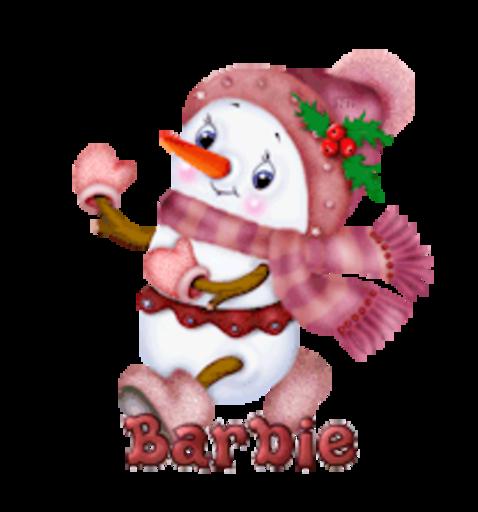 Barbie - CuteSnowman