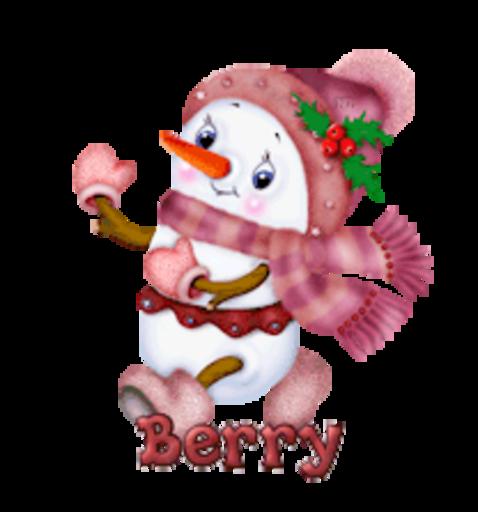 Berry - CuteSnowman