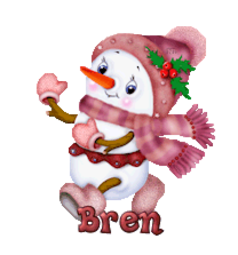 Bren - CuteSnowman