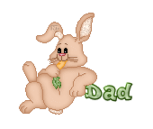 Dad - BunnyWithCarrot