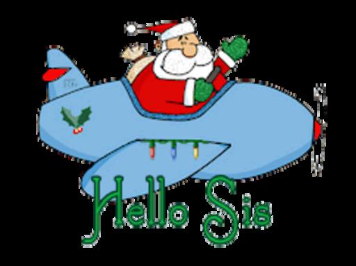 Hello Sis - SantaPlane