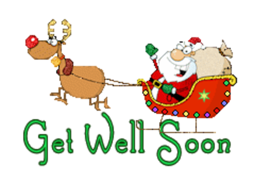 Get Well Soon - SantaSleigh