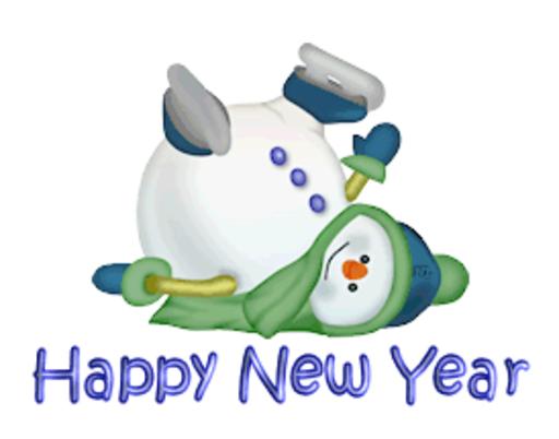 Happy New Year - CuteSnowman1318