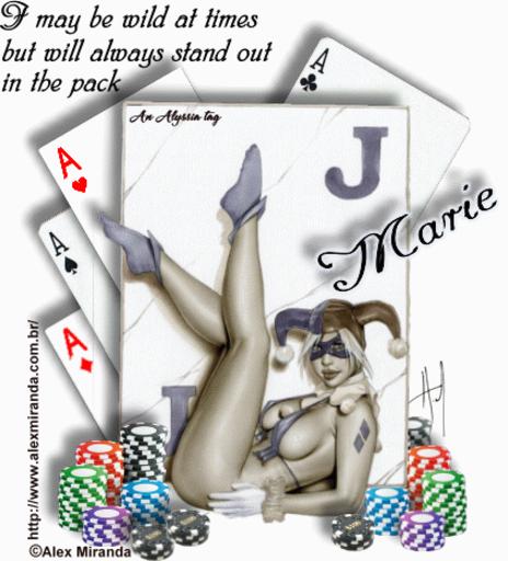 Marie Joker AMiranda Alyssia