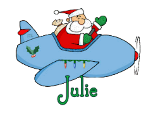 Julie - SantaPlane