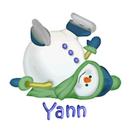 Yann - CuteSnowman1318