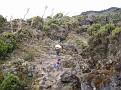Climbing the wall.... Road to Kili...