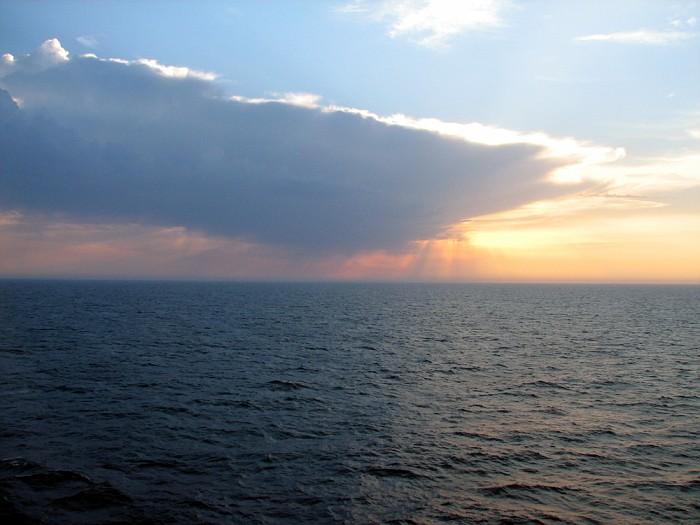 Balcony Sunset:)