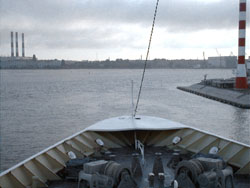 Black Watch approaching St petersburg