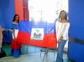 Haiti represented at the Opening Ceremonies