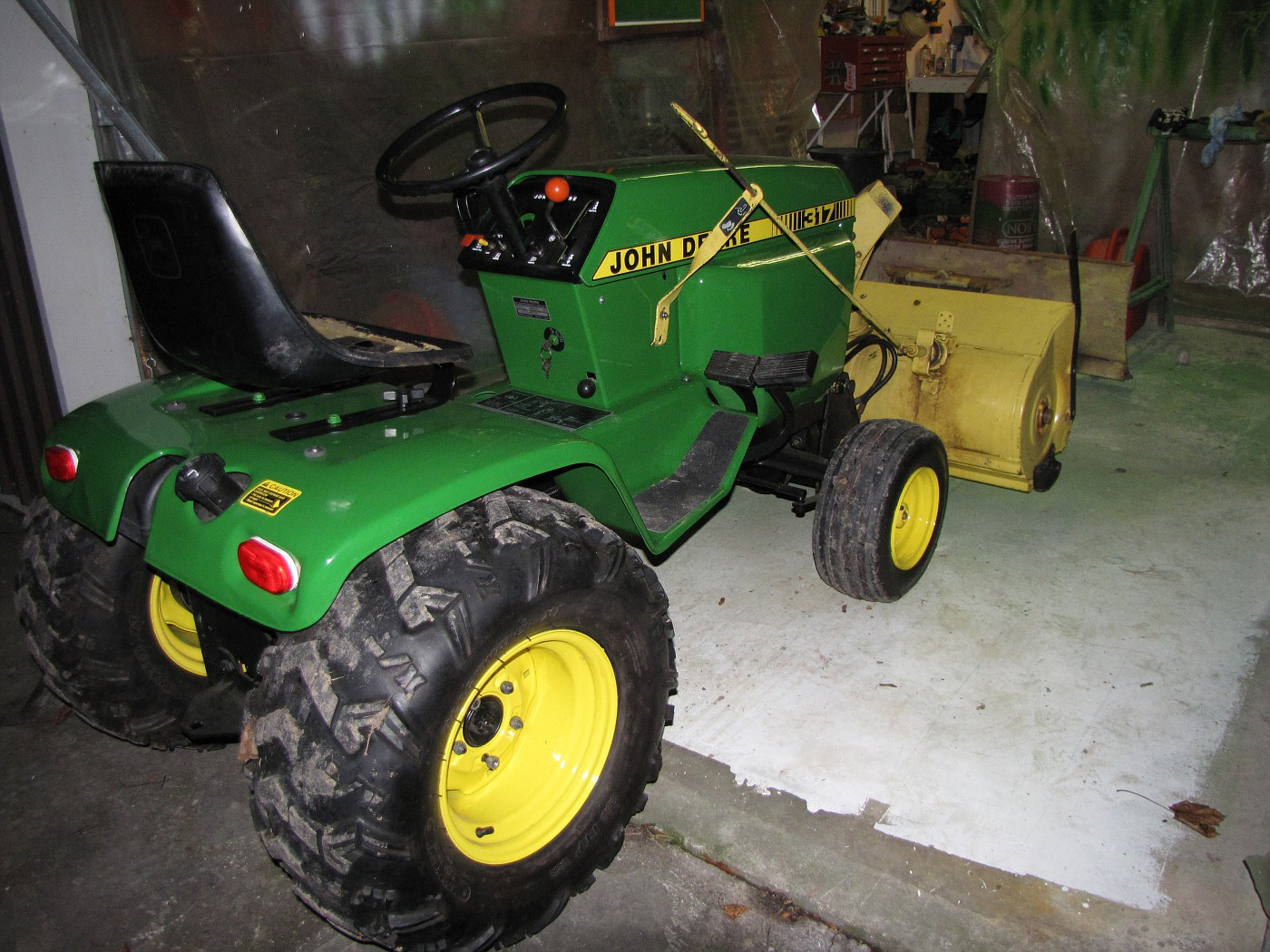 Toasty John Deere 317 Pic 39 S Page 20 The Friendliest Tractor Forum And