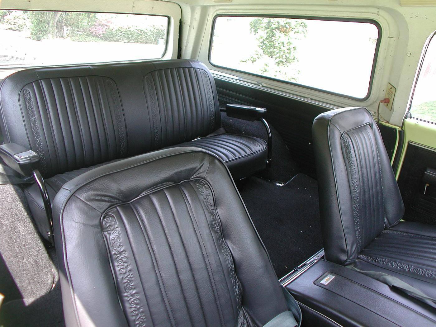 71 72 Blazer Seats Bing Images