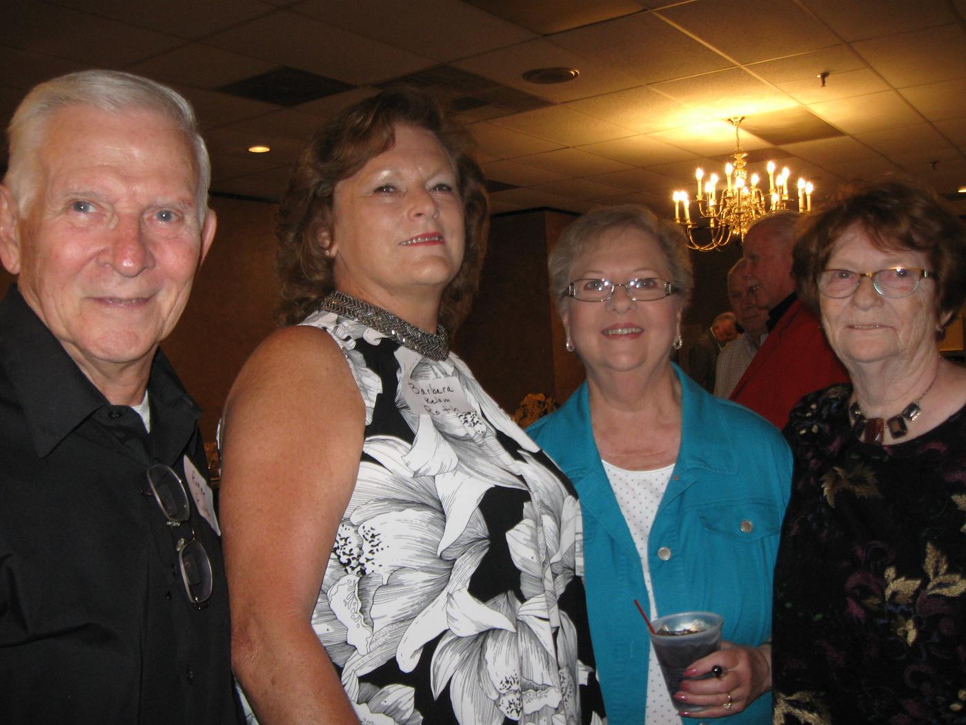 Roger & Barb Roth, Anita Varney, Virginia Sanders