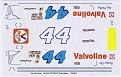 DAP Designs 1979 Kyle Petty #44 Valvoline