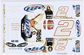 DAP Designs 2004 Rusty Wallace #2 Miller Lite-Puddle of Mud