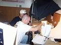 Gregg Hutchings hard at work