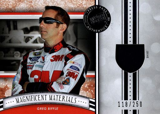 2012 FanFare Magnificent Materials Greg Biffle (1)