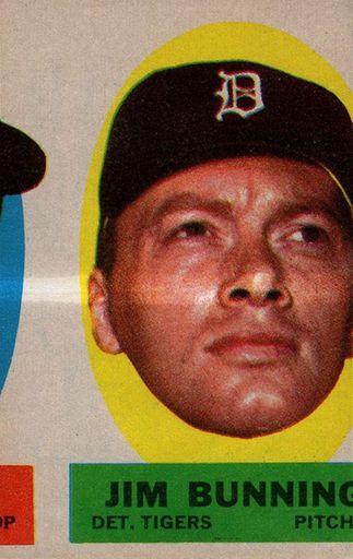 Error 1963 Topps Sticker Jim Bunning (1)