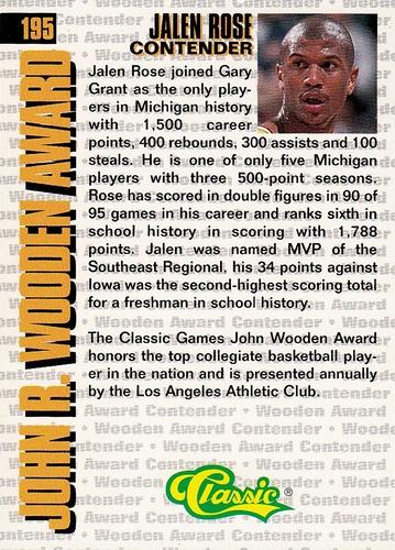 1994 Classic 4-Sport #195 (2)