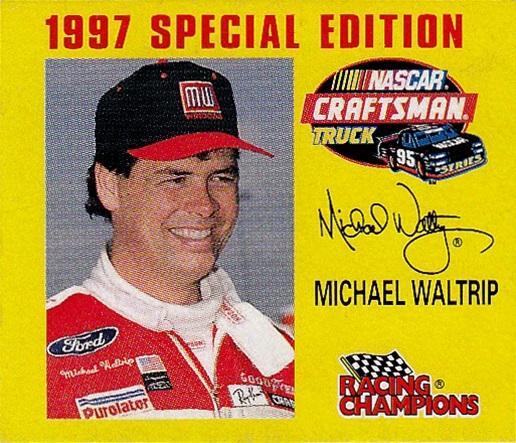Racing Champions 1-144th 1997 1996 Michael Waltrip (1)