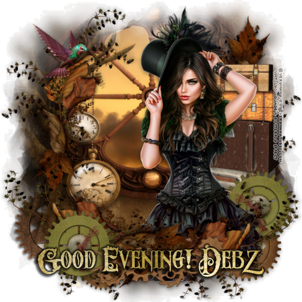 GOOD MORNING/NIGHT EveningDebzSteampunkTravelervi-vi