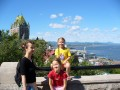 Chateau Frontenac, view from Citadelle, Quebec