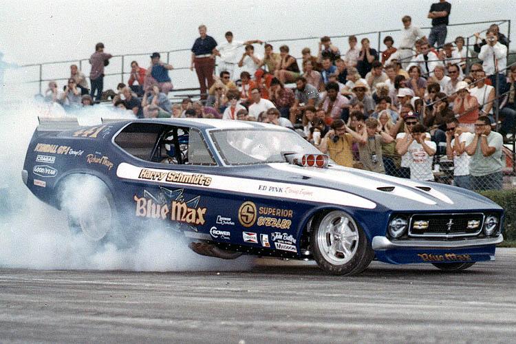 Blue Max 71 Mustang FC 1