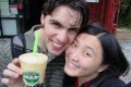 Mango Milk Smoothie Bubble Tea -- the 2.25 special!!