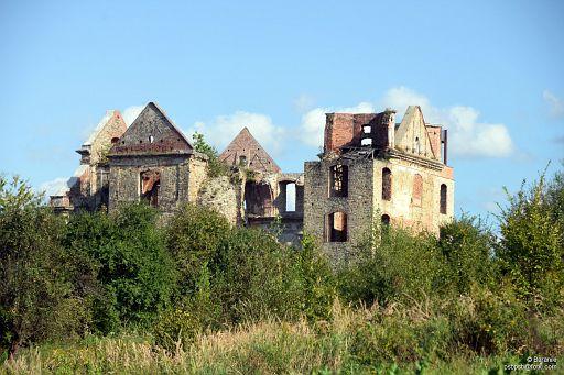 Ruiny klasztoru Karmelitów Bosych