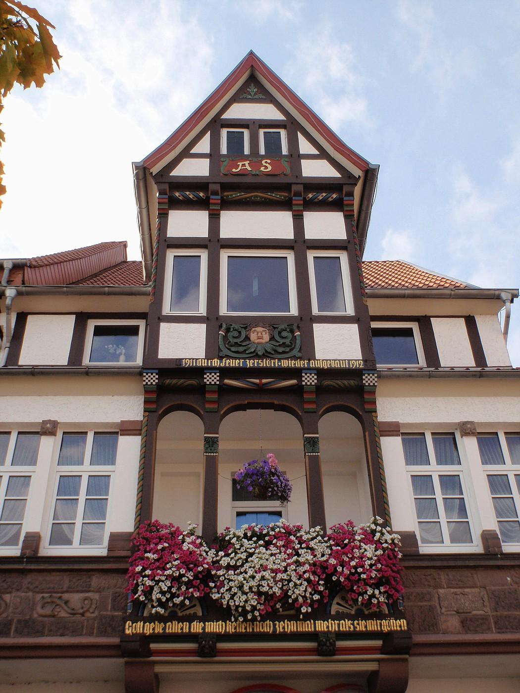Fachwerkhaus am Blomberger Marktplatz