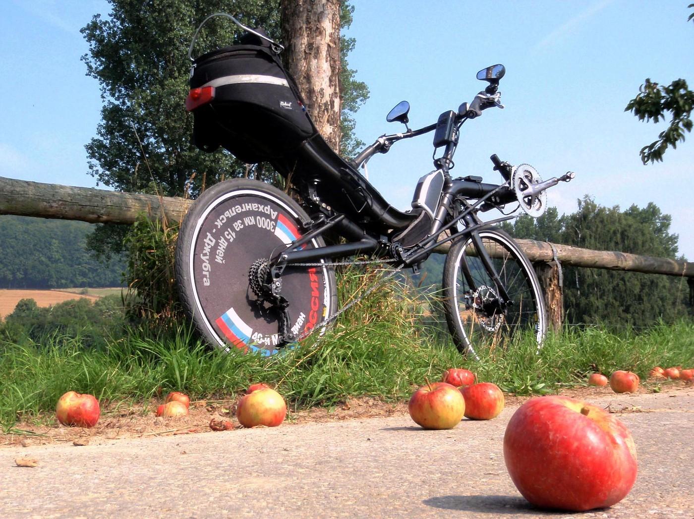 Apfel-Pause